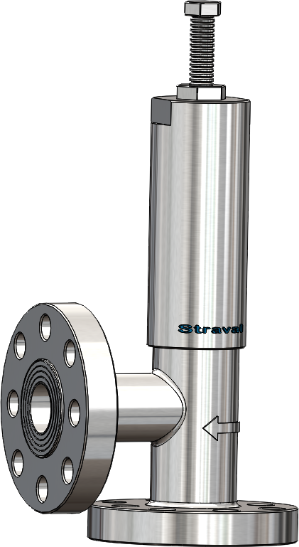 Stainless steel 600 flange back pressurebypass valve straval high pressure relief valve ansi rf flanged ccuart Image collections