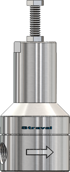 Stainless Steel Low-Pressure Accurate Relief Valve   StraVal