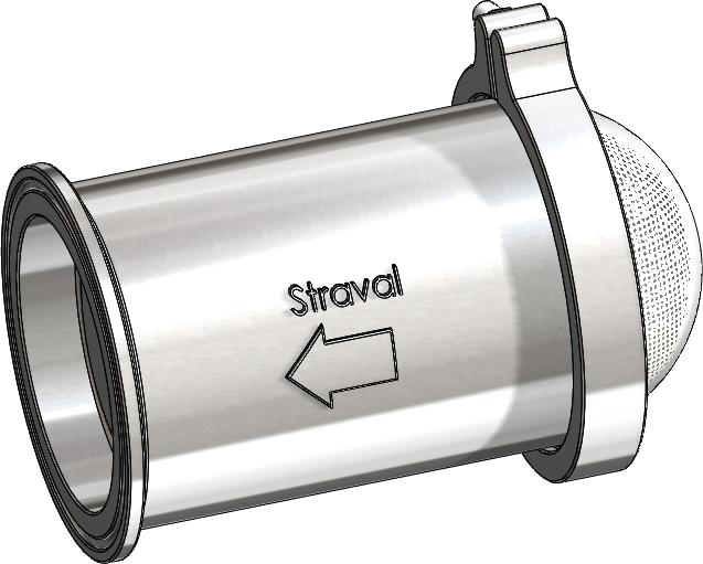 VRV-TC In-Line Sanitary Vacuum Relief Valve